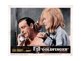 Goldfinger  from Left  Sean Connery  Shirley Eaton  1964