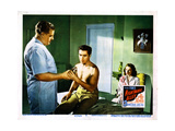 Nightmare Alley  Tyrone Power (Center)  Coleen Gray (Right)  1947