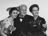 The Actress  from Left: Jean Simmons  Spencer Tracy  Teresa Wright  1953