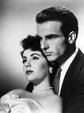 A Place in the Sun  from Left: Elizabeth Taylor  Montgomery Clift  1951