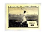 Golf  as Played by Gene Sarazen  Gene Sarazen  1932