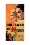 The 39 Steps  Madeleine Carroll  Robert Donat  1935
