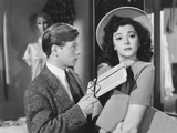 Andy Hard's Private Secretary  from Left: Mickey Rooney  Ann Rutherford  1941