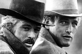 Butch Cassidy and the Sundance Kid, Robert Redford, Paul Newman, 1969 Reproduction photo