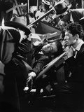 Strangers on a Train  Robert Walker (Center)  Farley Granger (Foreground Right)  1951