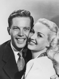 Diamond Horseshoe  (AKA Billy Rose's Diamond Horseshoe)  from Left: Dick Haymes  Betty Grable  1945