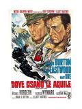 Where Eagles Dare  (AKA Dove Osano Le Aquile)  from Left: Clint Eastwood  Richard Burton  1968