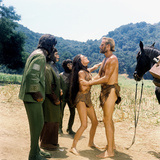 Planet of the Apes  Roddy Mcdowall  Kim Hunter  Linda Harrison  Charlton Heston  1968