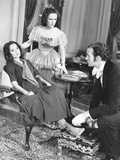Wuthering Heights  from Left: Merle Oberon  Geraldine Fitzgerald  David Niven  1939