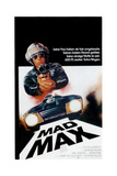 Mad Max  Top: Mel Gibson on German Poster Art  1979