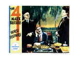 Horse Feathers  from Left: E H Calvert  Groucho Marx  Edward Lesaint  (The Marx Brothers)  1932