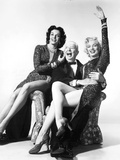 Gentlemen Prefer Blondes  from Left: Jane Russell  Charles Coburn  Marilyn Monroe  1953