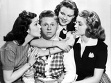 Love Finds Andy Hardy  Ann Rutherford  Mickey Rooney  Judy Garland  Lana Turner  1938