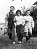 To Kill a Mockingbird  Philip Alford  Mary Badham  John Megna in Between Scenes  1962