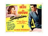 Suspicion  Joan Fontaine  Cary Grant  1941