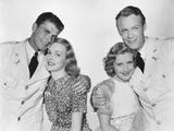 Brother Rat  from Left: Ronald Reagan  Jane Wyman  Priscilla Lane  Wayne Morris  1938