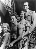 A Streetcar Named Desire  Vivien Leigh  Marlon Brando  Kim Hunter  Karl Malden  1951
