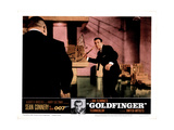 Goldfinger  from Left  Harold Sakata  Sean Connery  1964