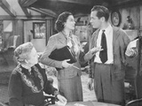 Night Must Fall  from Left: Dame May Whitty  Rosalind Russell  Robert Montgomery  1937