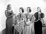 Three Smart Girls  from Left: Binnie Barnes  Deanna Durbin  Barbara Read  Nan Grey  1936