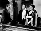 A Night at the Opera  from Left: Groucho Marx  Sig Ruman  Margaret Dumont  1935