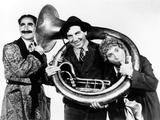 A Night in Casablanca  from Left: Groucho Marx  Chico Marx  Harpo Marx  1946