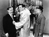 A Night at the Opera  from Left  Groucho Marx  Walter Woolf King  Harpo Marx  1935