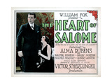 The Heart of Salome  from Left  Walter Pidgeon  Alma Rubens  1927