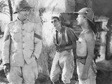The Lost Patrol  from Left: Victor Mclaglen  Boris Karloff  Douglas Walton  1934