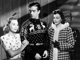 Sun Valley Serenade  from Left  Sonja Henie  John Payne  Lynn Bari  1941