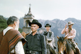 The Magnificent Seven  Yul Brynner  Horst Buchholz  Steve Mcqueen  1960