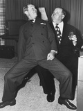 Joe E Brown  Oliver Hardy  1950s