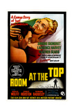 Room at the Top  Australian Poster  from Left: Laurence Harvey  Simone Signoret  1959