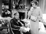 Dinner at Eight  from Left  Lionel Barrymore  Billie Burke  1933