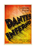 Dante's Inferno  Swedish Poster Art  1935