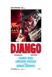 Django  Italian Poster Art  Franco Nero  1966
