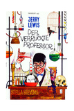 The Nutty Professor  German Poster Art  1963