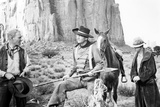 The Searchers  from Left: Harry Carey Jr  John Wayne  1956