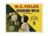 Running Wild  from Left: WC Fields  Mary Brian  1927