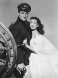 Wake of the Red Witch  from Left: John Wayne  Gail Russell  1948