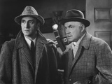 Dressed to Kill  from Left: Basil Rathbone  Nigel Bruce  1946