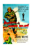 Sands of Iwo Jima  Spanish Poster Art  1949