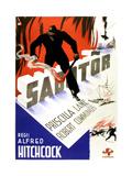 Saboteur  (AKA Sabotor)  (Swedish Poster Art)  1942