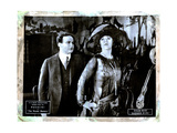 The Master Mystery  from Left  Harry Houdini  Edna Britton  Episode Seven  'Barbed Wire ' 1919