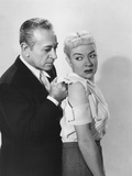 A Bullet for Joey  from Left: George Raft  Audrey Totter  1955