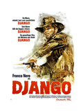Django  German Poster Art  Franco Nero  1966