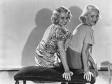 Three on a Match  from Left: Joan Blondell  Bette Davis  1932