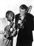The Glenn Miller Story  Louis Armstrong  James Stewart  1954