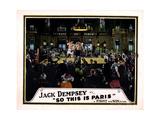 So This Is Paris  Jack Dempsey  1924