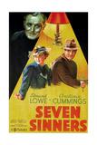 Seven Sinners  (AKA Doomed Cargo)  1936
